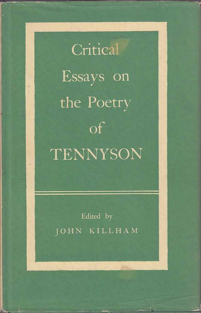 critical essays poetry tennyson