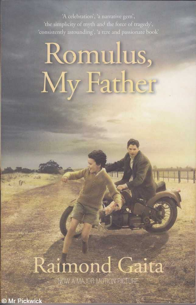 an analysis of the biography romulus my father by raimond gaita Raimond gaita (born raimund gaita 14 may 1946, dortmund, germany) is an australian philosopher and award-winning writer romulus my father won the nettie palmer prize for non-fiction in the victorian premier's literary award and was shortlisted for the queensland premier's literary awards.