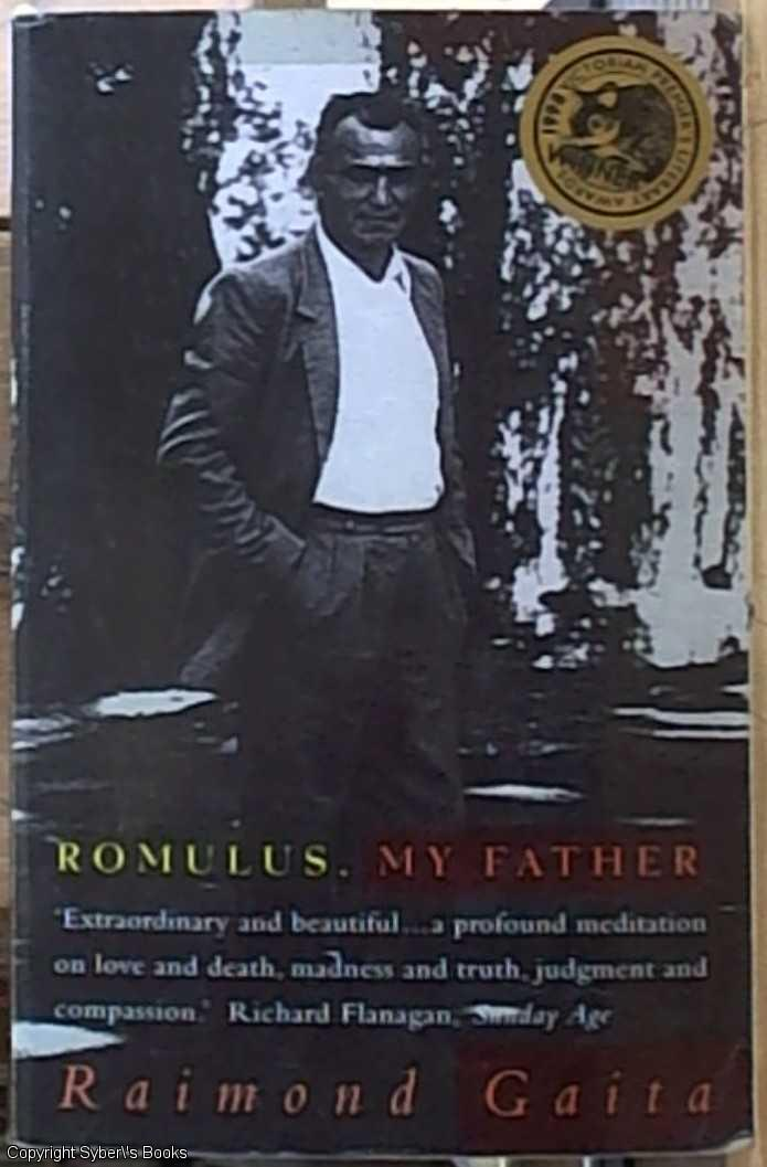 romulus my father a study of The influence of the landscape on the writing of romulus, my father gaita's sense of the landscape in central victoria affects the entire mood and tone of the memoir, even perhaps the rhythm of its sentences.
