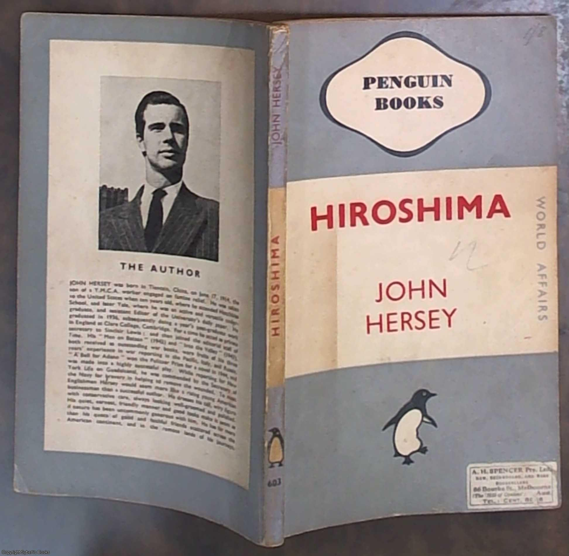 a review of the book hiroshima by john hersey Almost four decades after the original publication of this celebrated book, john hersey went back to hiroshima in search of the goodreads book reviews.