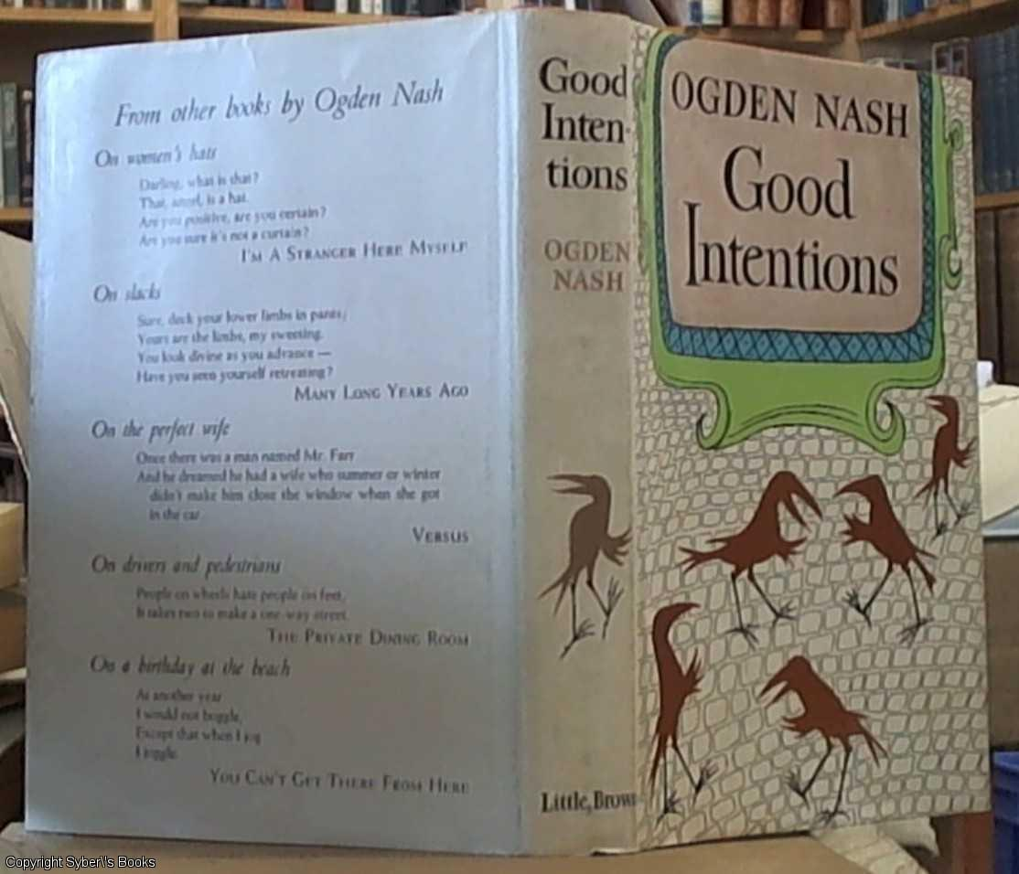ogden nash confession of a born spectator Note that these divisions simplify the history of poetry and are useful only for characterizing general trends a poet in one period may have more in common with a poet in another than with contemporaries.