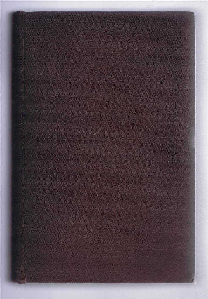 The Journal of the Iron & Steel Institute Vol LVIII: No. II, 1900, Bennett H Brough (ed); H Pinget; J E Stead; Prof H Bauerman; Ernest F Lange; etc.