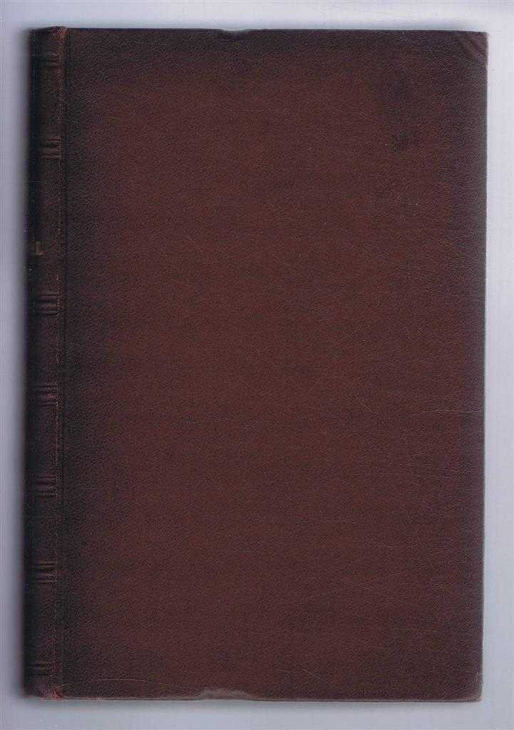 The Journal of the Iron & Steel Institute Vol LXIX: No. I, 1906, Bennett H Brough (ed); A J Capron; Thomas Turner; E Adamson; J O Arnold; F K Knowles; etc.