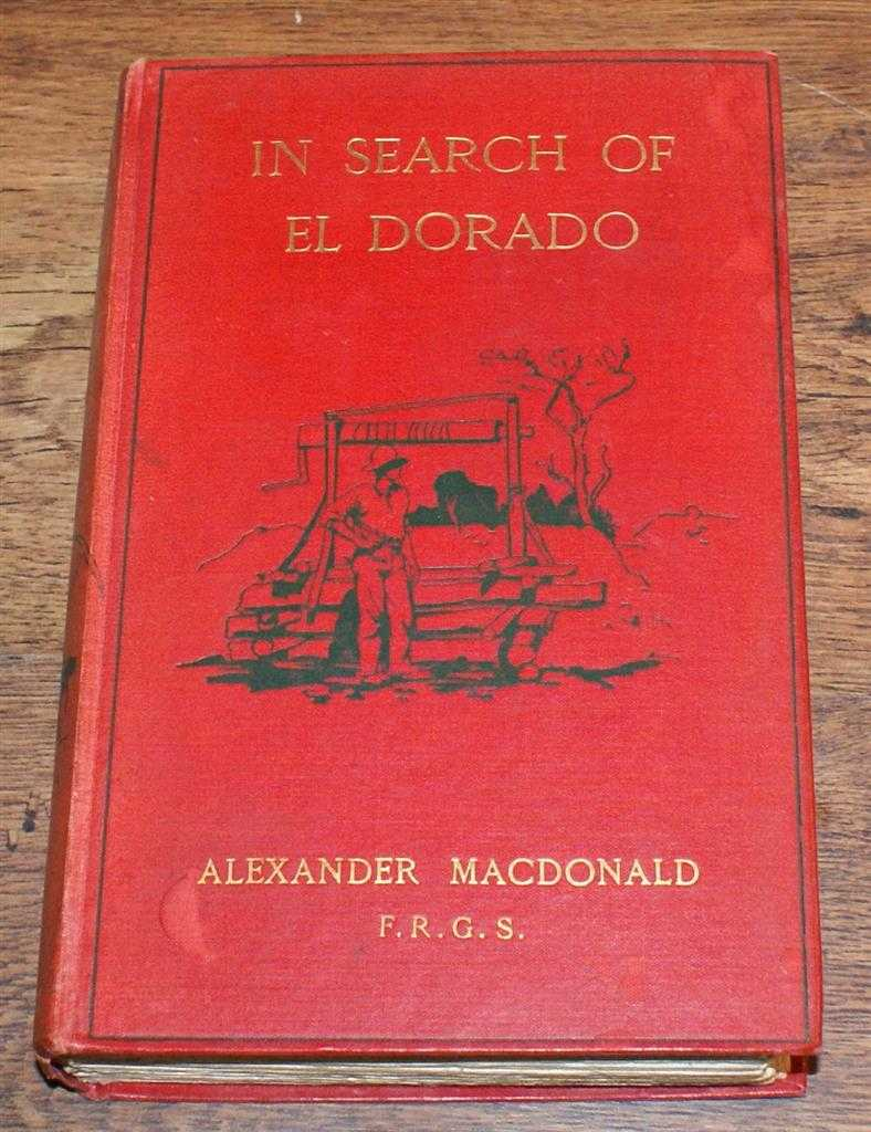 Image for In Search of Eldorado, A Wanderer's Experience