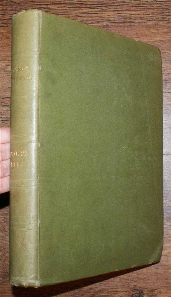 Mining and Metallurgy, Volume 23, January to December 1942. Nos. 421-432 plus Index to Volume 23., American Institute of Mining & Metallurgical Engineers, Inc.