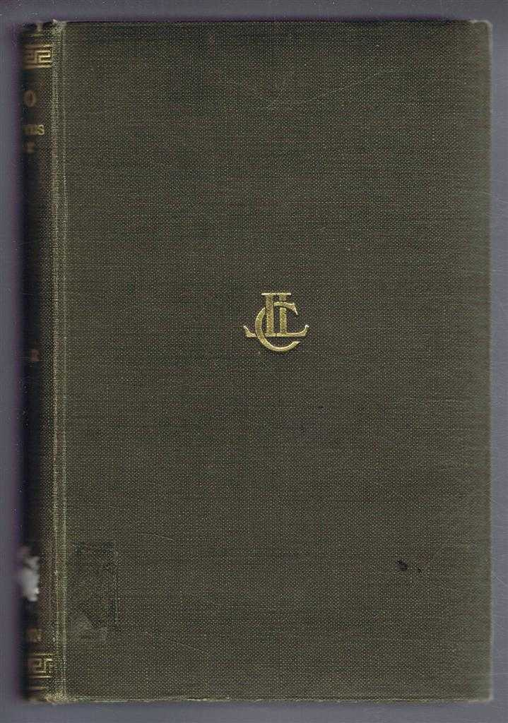 Plato, with an English Translation by Harold North Fowler: Theatetus Sophist, Plato, translated by Harold North Fowler