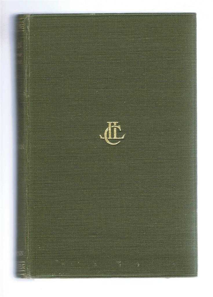 Arrian, with an English Translation. Volume II only: Anabasis Alexandri (Alexander) (Books V-VII), Indica (Book VIII), Arrian translation by E Iliff Robson