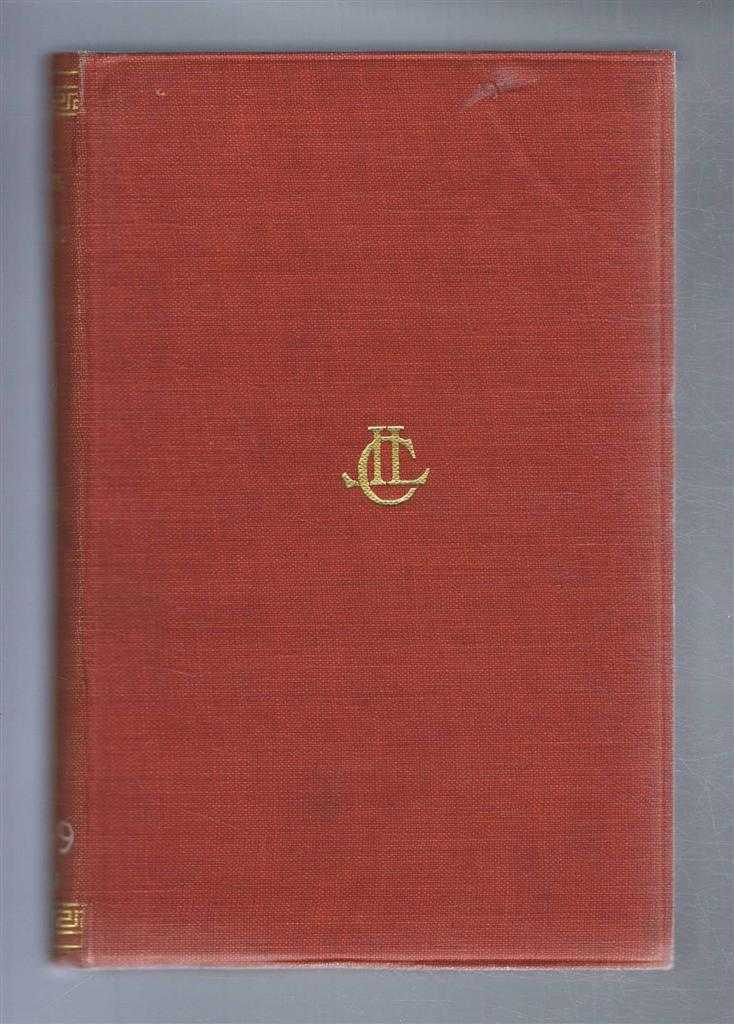 The Attic Nights of Aulus Gellius. In three volumes. Volume I only. With an English translation by John C Rolfe, Gellius; Translated by John C Rolfe