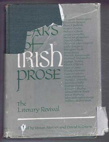 1000 Years of Irish Prose, Part I, The Literary Revival, edited and with an introduction by Vivian Mercier and David H Greene