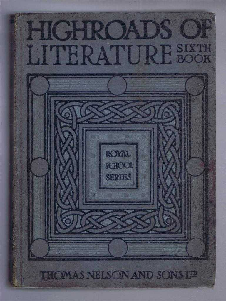Image for The Royal School Series: Highways of Literature, Book VI - Thoughts and Voices