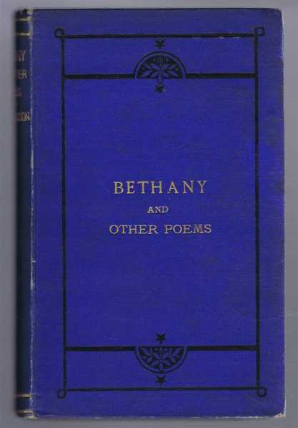 Image for Bethany and Other Poems