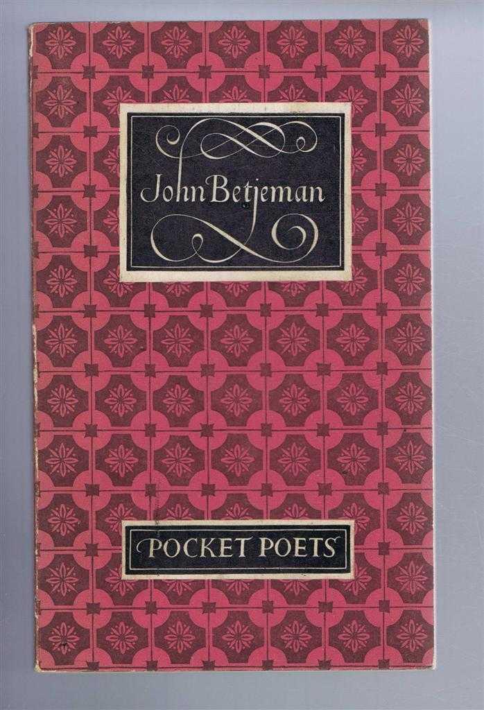 JOHN BETJEMAN - The Pocket Poets - John Betjeman
