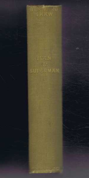Man and Superman, A Comedy and a Philosophy, Bernard Shaw