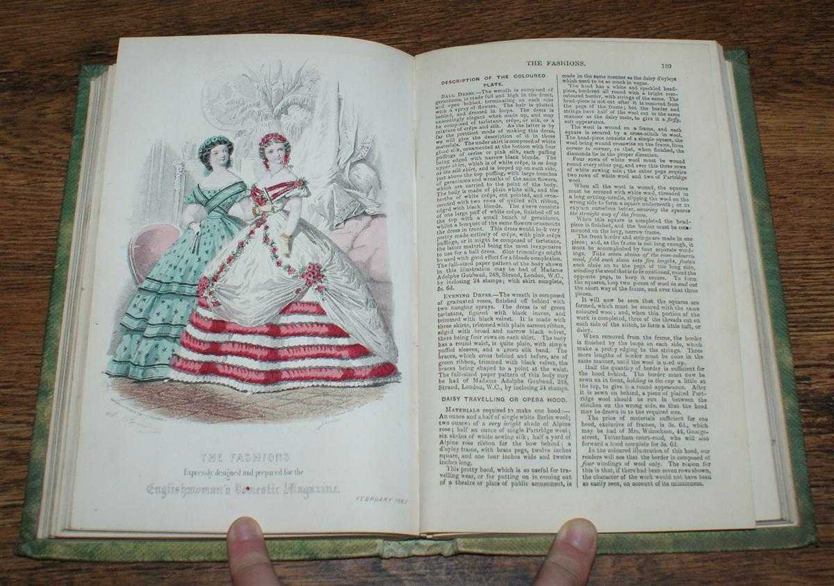 The Englishwoman's Domestic Magazine, An Illustrated Journal Combining Practical Information, Instruction and Amusement. New Series, Vol. IV November 1861 - April 1862, various including Thomas Archer