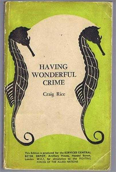 Having Wonderful Crime, Craig Rice