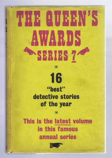 The Queen's Awards, Seventh Series (Series 7), The Winners of the Seventh Annual Detective Short-Story Contest, edited by Ellery Queen, Thomas Flanagan etc.