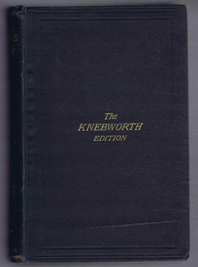 Eugene Aram, a Tale (Knebworth Edition), Lord Lytton