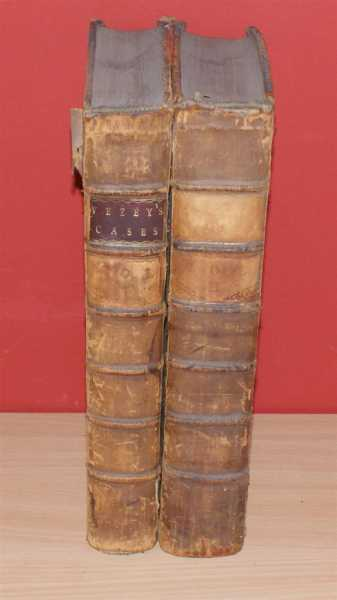 Cases Argued and Determined, in the High Court of Chancery in the Time of Lord Chancellor Hardwicke, From the Year 1746-7 to 1755 with Tables, Notes and References. 2 volumes, Francis Vezey