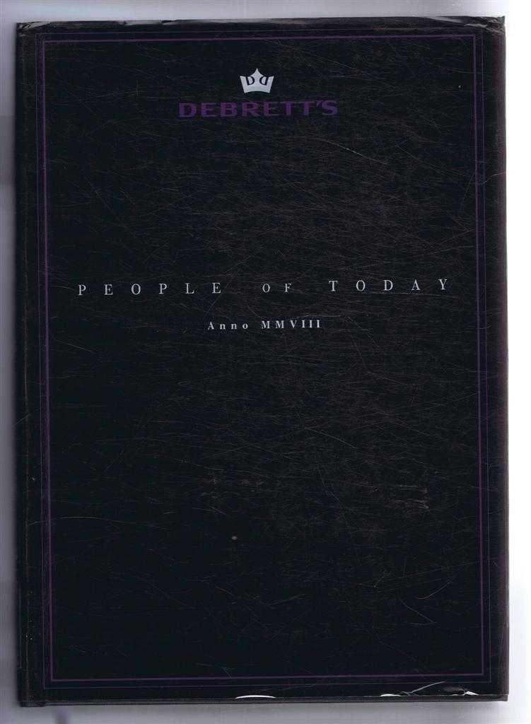Image for Debrett's People of Today Anno MMVIII (2008)
