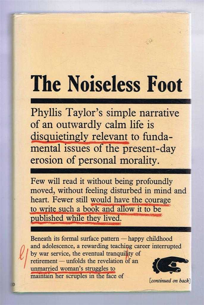 Image for The Noiseless Foot, an autobiography