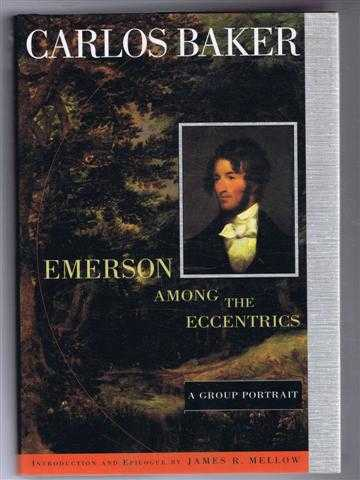 Image for Emerson Among the Eccentrics