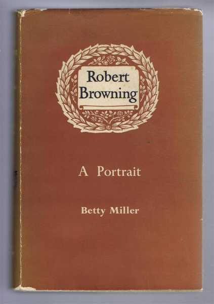 Image for Robert Browning, A Portrait