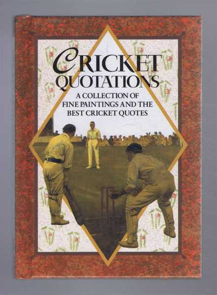 Cricket Quotations, a Collection of Fine Paintings and the Best Cricket Quotes, Helen Exley, Elizabeth Cotton