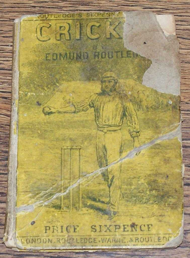The Handbook of Cricket, Edmund Routledge