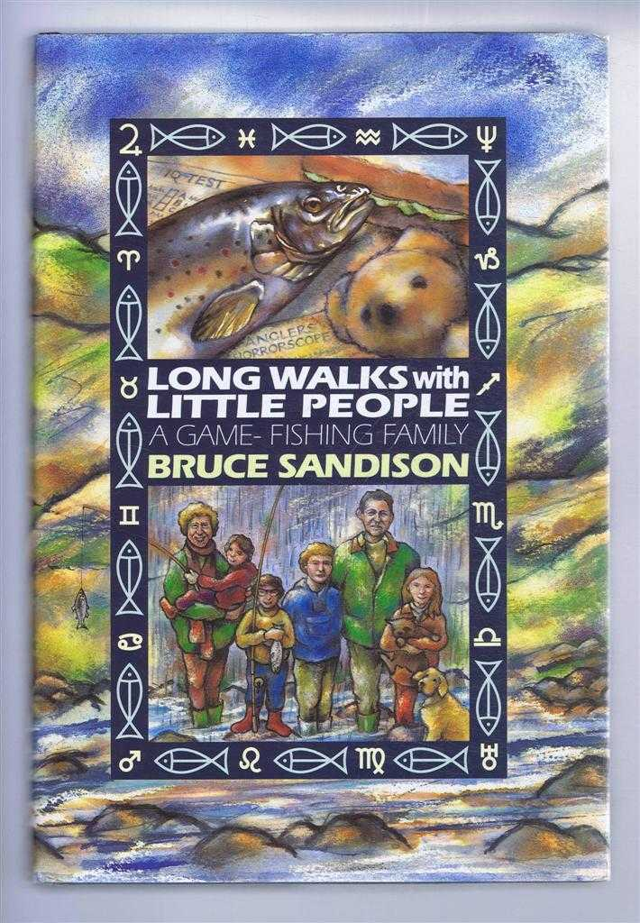 Image for Long Walks with Little people. A Game Fishing Family