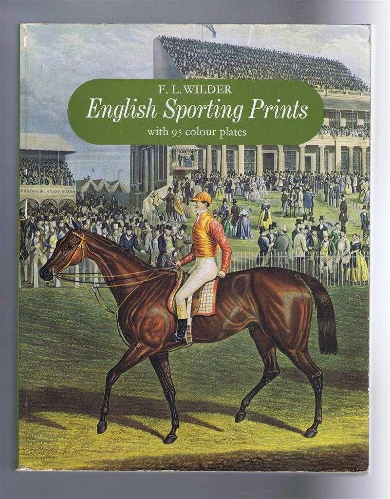 English Sporting Prints, F L Wilder