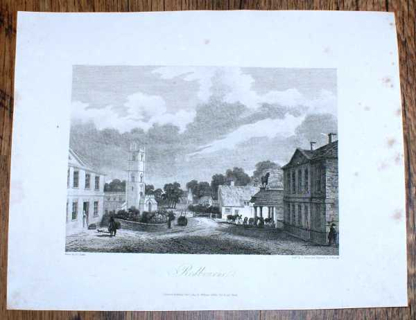 Image for Disbound Single Plate of Redbourne from Bartholomew Howlett's Selection of Views in the County of Lincoln