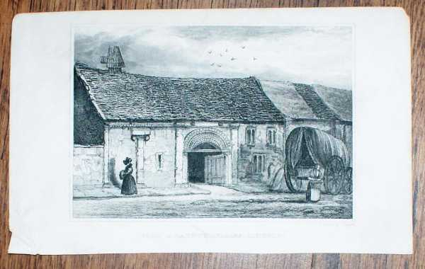 """Image for Disbound Engraving of """"John of Gaunt's Stables, Lincoln"""""""
