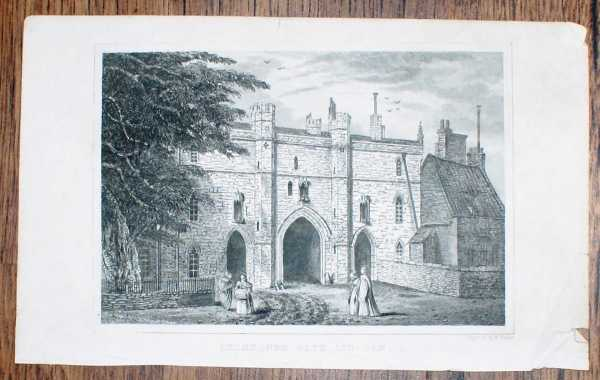 """Image for Disbound Engraving of """"Exchequer Gate, Lincoln"""""""