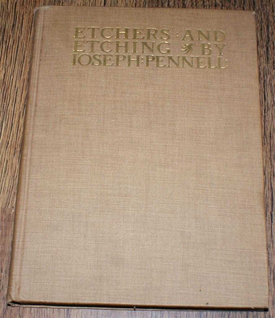 Image for Etchers and Etching, Chapters in the History of the Art together with Technical Explanation of Modern Artistic Methods