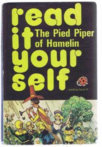 The Pied Piper of Hamelin, Ladybird Books read it yourself series 777 reading level 4, Fran Hunia