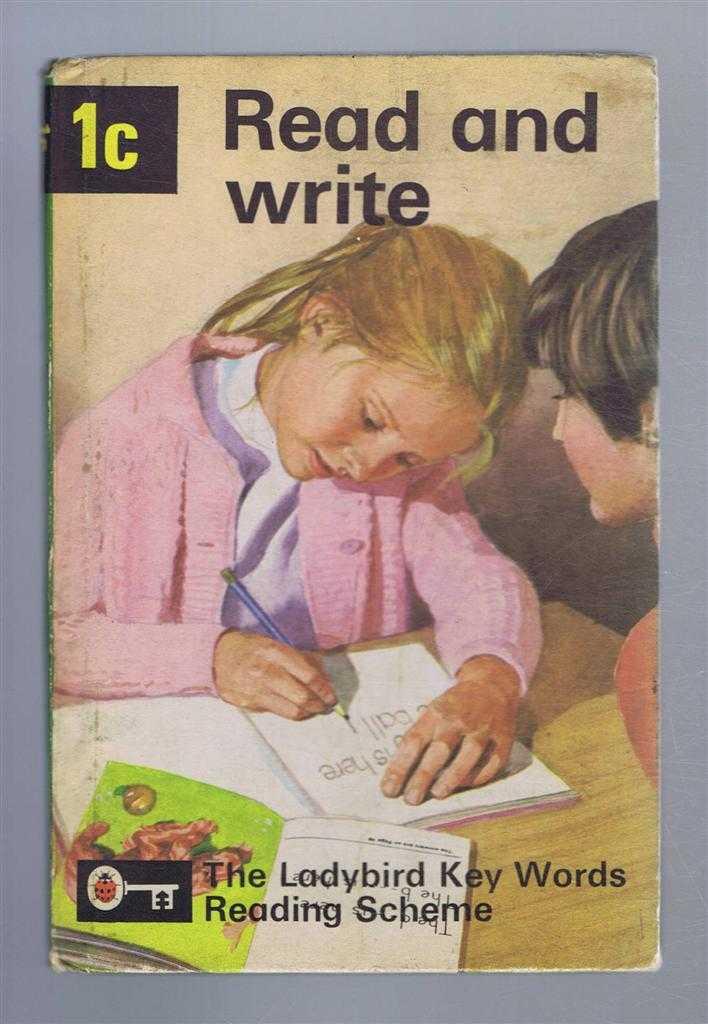 Read and Write, Book 1c, The Ladybird Key Words Reading Scheme, W Murray