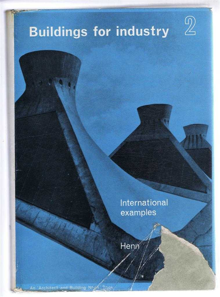 Image for Buildings For Industry, Volume Two (2), International Examples