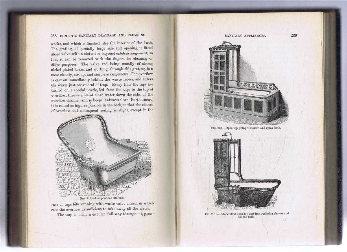 Image for Domestic Sanitary Drainage and Plumbing, Lectures on Practical Sanitation delivered to Plumbers, Engineers, and Others in the Central Technical Institution, South Kensington, London.