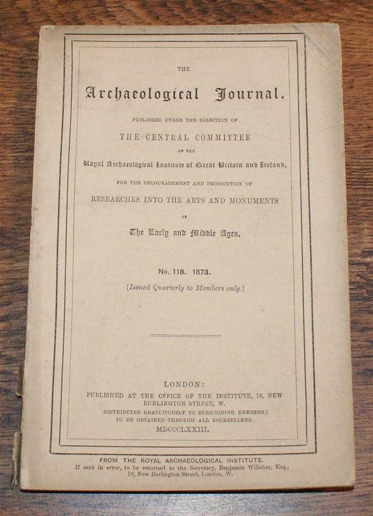 Image for The Archaeological Journal, No. 118, June 1873, For Researches into the Early and Middle Ages