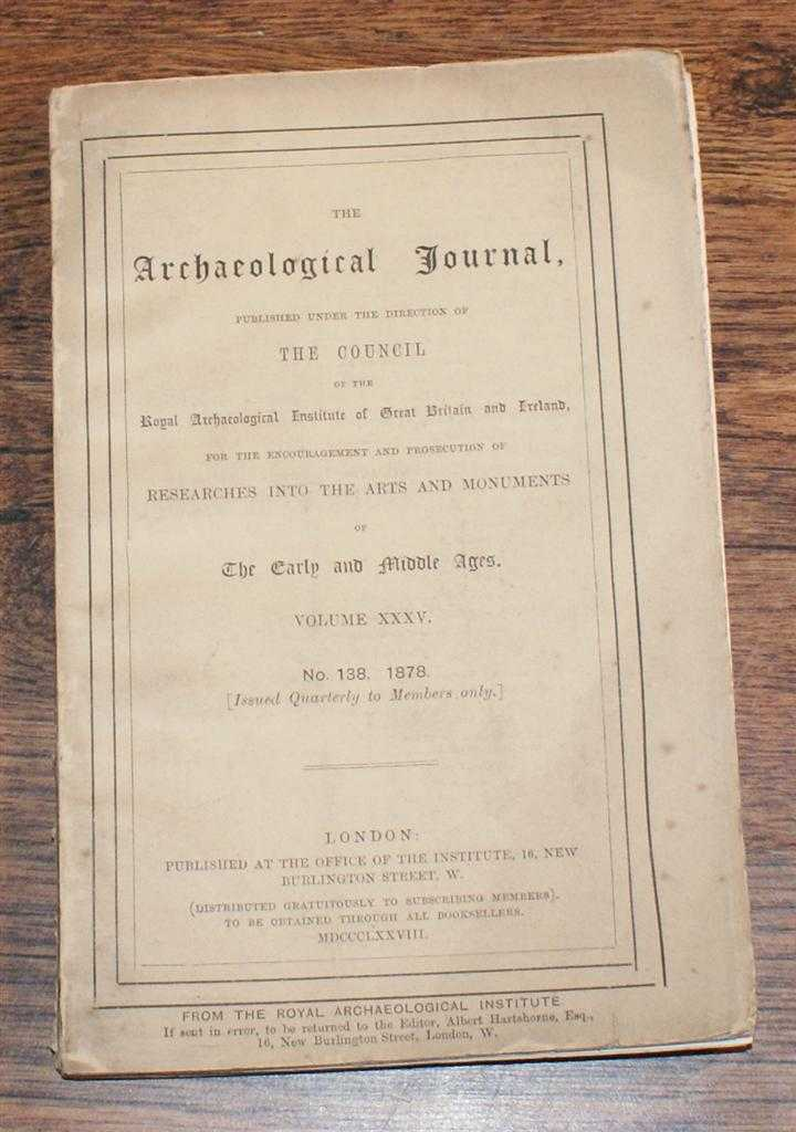 Image for The Archaeological Journal, Volume XXXV, No. 138, June 1878, For Researches into the Early and Middle Ages