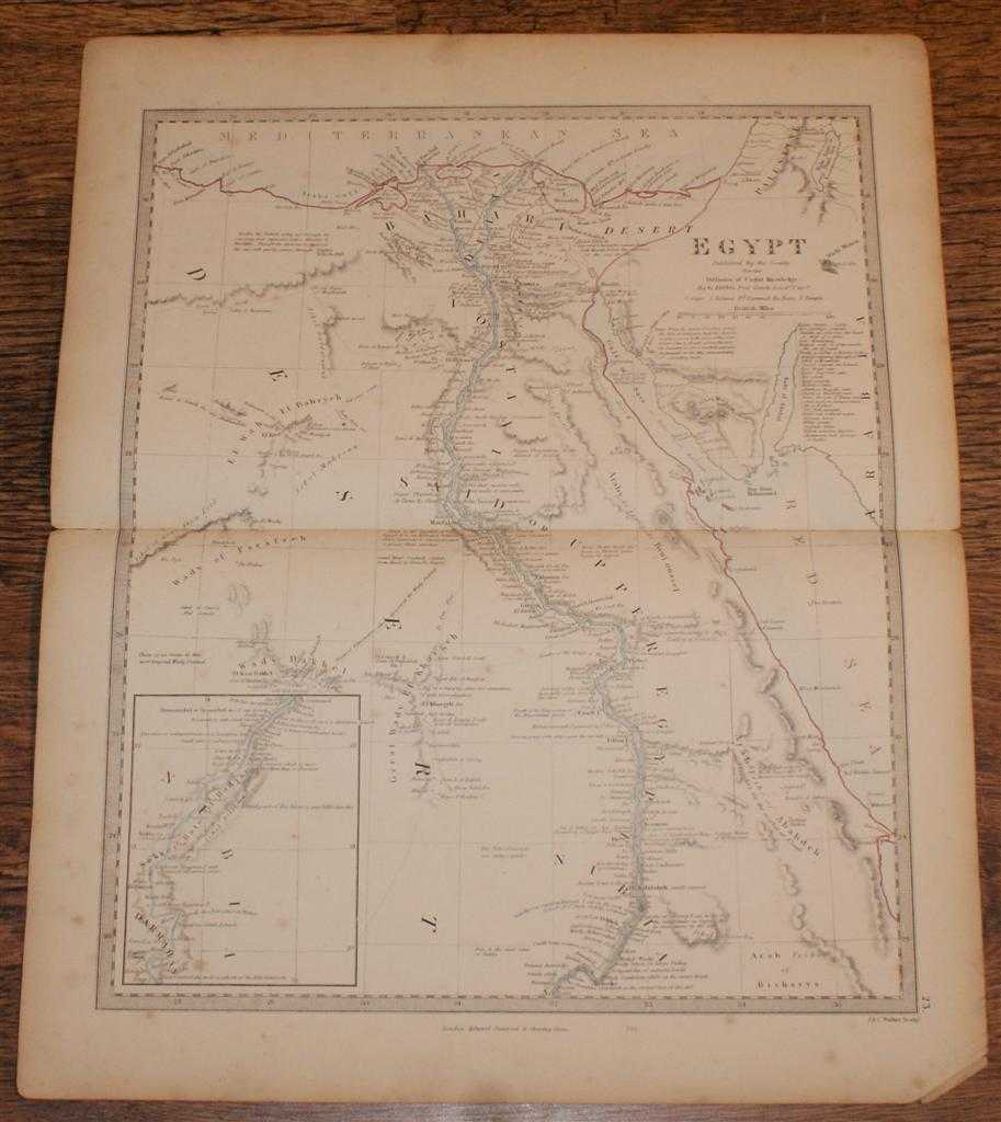 "Image for Map of Africa - disbound sheet from 1857 ""University Atlas"""