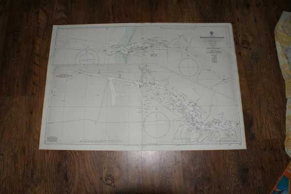 Nautical Chart No. 124. Netherlands - Nordzeekanaal. From The Netherlands Government Charts of 1967. With corrections to 1970. Small corrections to 1972. Scale 1:20,000., Admiralty