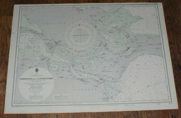 Nautical Chart No. 2138. Smaalands - Farvandet: Gronsund and the Storstrom. From a Danish Government Chart of 1924 with corrections to 1965. Small corrections to 1973. Scale 1:75,000, Admiralty