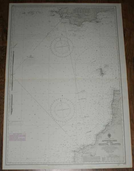 Nautical Chart No. 1178. England - West Coast. Approaches to the Bristol Channel. Compiled from the latest Admiralty surveys to 1965. Rear-Admiral A Day. With additions and corrections to 1973. Scale 1:150,000., Admiralty