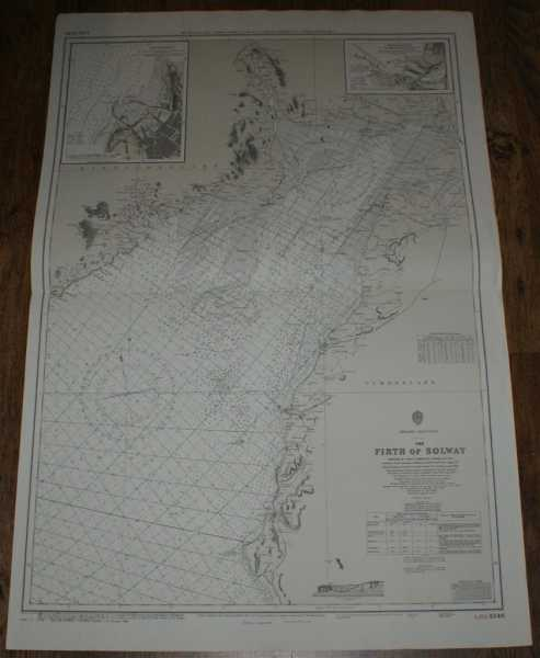 Nautical Chart No. L(D3)1346 England - West Coast, Firth of Solway, Admiralty