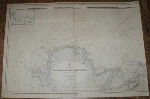 Nautical Chart No. 1170A England - West Coast, Holyhead to Great Ormes Head, Admiralty