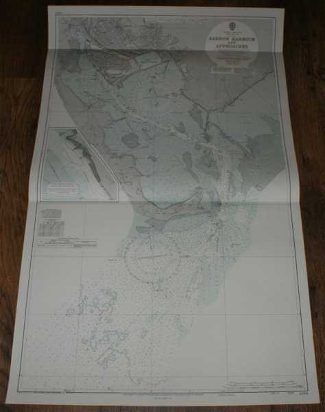 Nautical Chart No. 3164 England - West Coast, Morecambe Bay, Barrow Harbour and Approaches, Admiralty