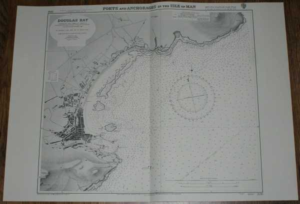 Nautical Chart No. 2696 Isle of Man - Douglas Bay, Admiralty