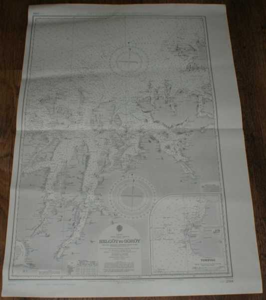Image for Nautical Chart No. L(D7)2314 Norway - Helgoy to Soroy