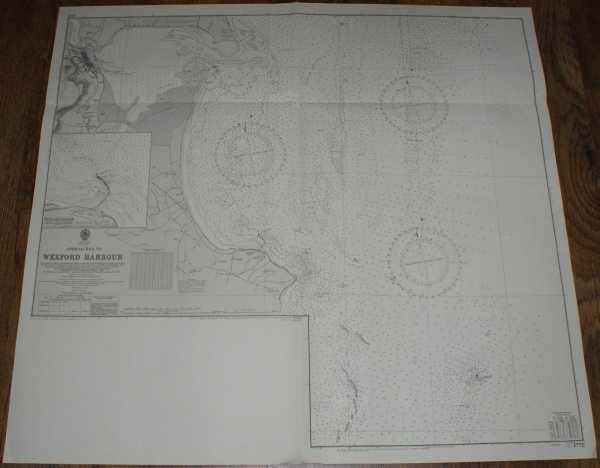 Nautical Chart No. 1772 Ireland - East Coast, Approaches to Wexford Harbour and Rosslare Harbour, Admiralty